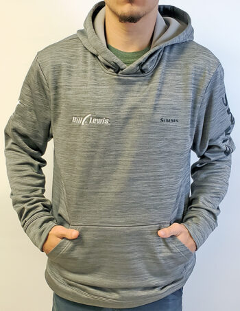 BL Simms Challenger Long-Sleeve Pullover -Steel Grey
